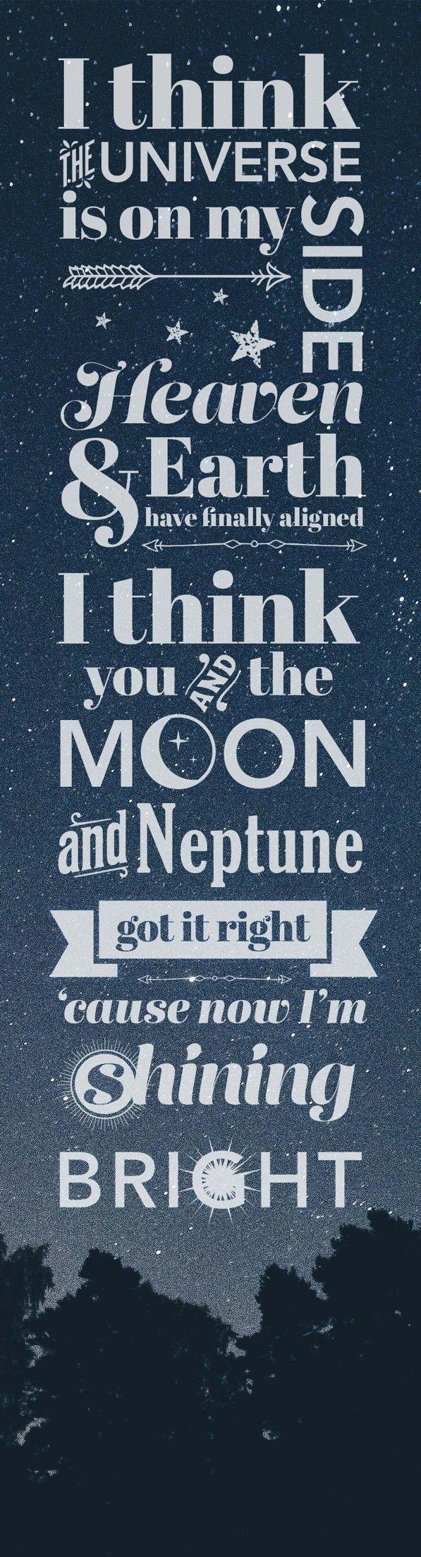 Bright by Echosmith :)