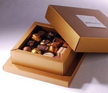 Caja para bombones y chocolates