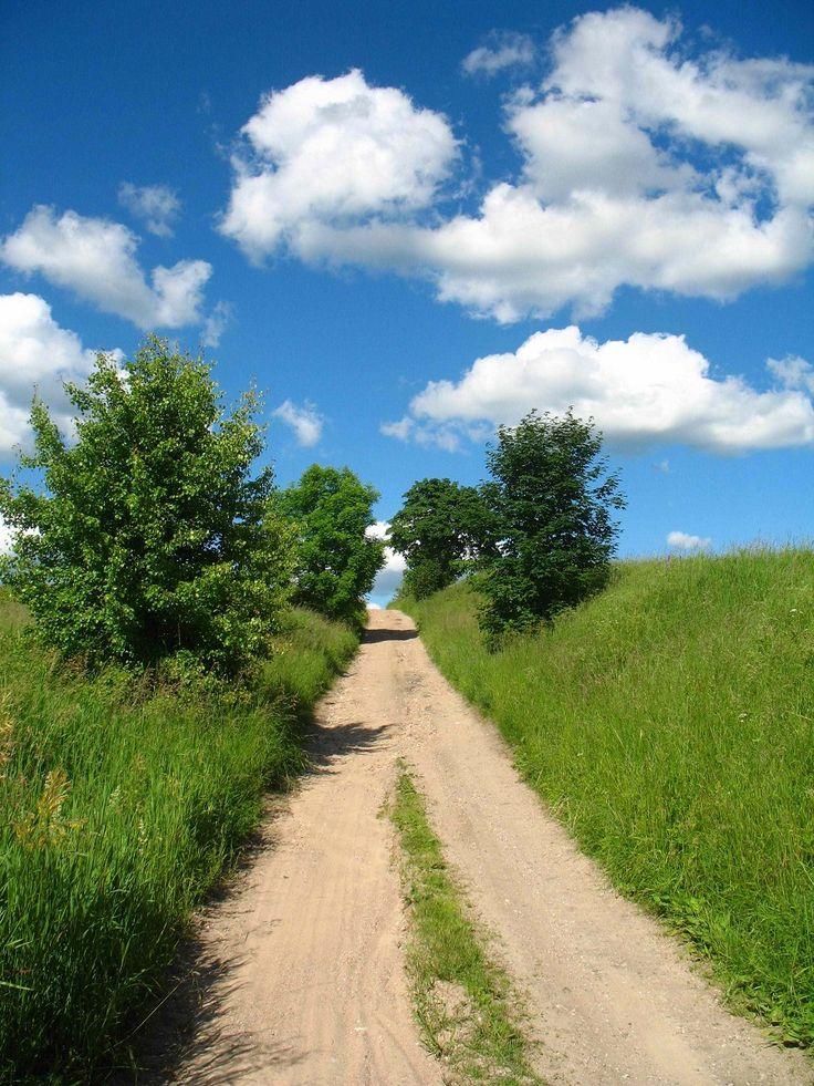 Jadąc dalej na wschód od Mrągowa szlak prowadzi przez dziewicze tereny rzadko zamieszkałe przez ludzi. Pagórkowaty teren jest szczególnie malowniczy, gdyż nieduże kępy lasów kontrastują z podmokłymi łąkami.  www.it.mragowo.pl