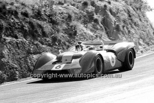694017 - Bevan Gibson, Elfin Repco V8 - Bathurst 7th April 1969 - AUTOPICS