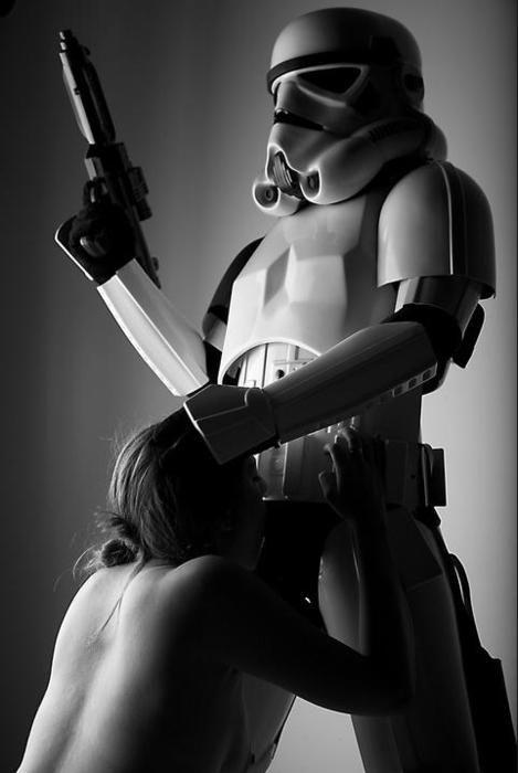 Sexual antics of darth vader