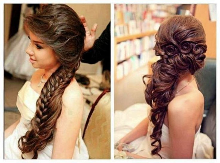 Hairstyle In Wedding Party: Wedding Hairstyles For Long