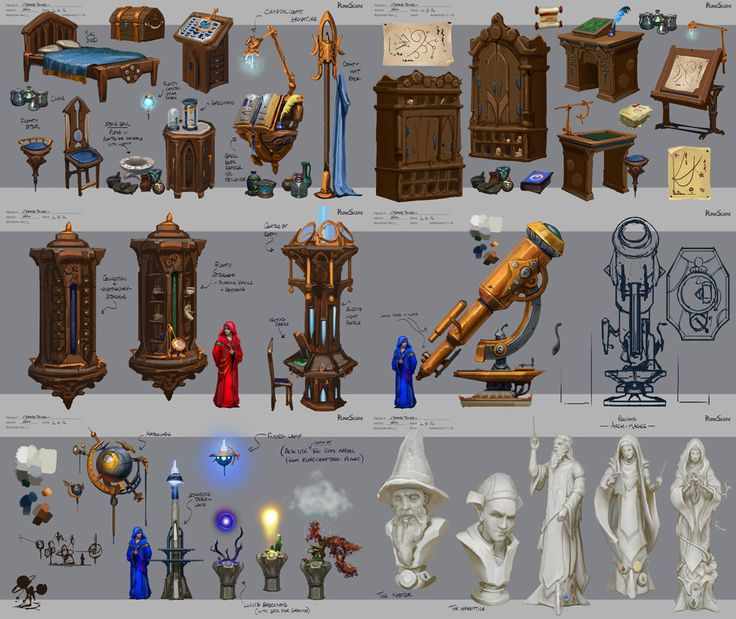ArtStation - Props, Neil Richards