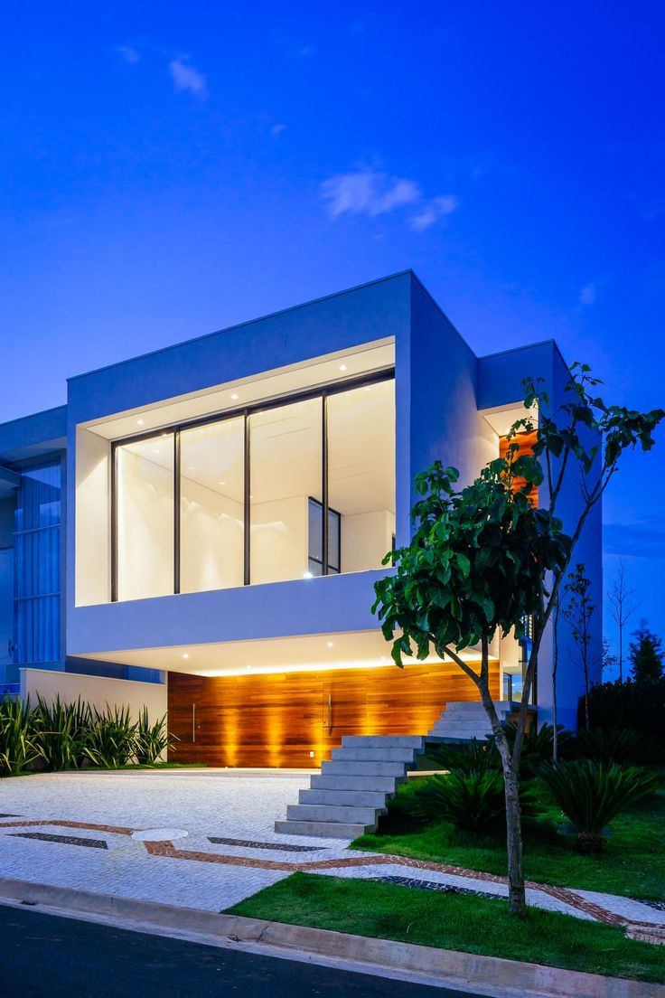 320 best nightscape+ modern homes images on pinterest