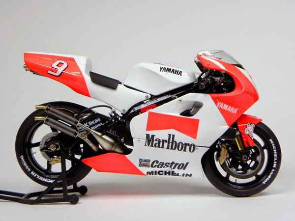 Racing Scale Models: Yamaha YZR 500 N.Abe 1996 by The uesan's Page