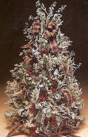 decoratedfoamcones desktop victorian christmas tree how did i do it - Victorian Christmas Trees