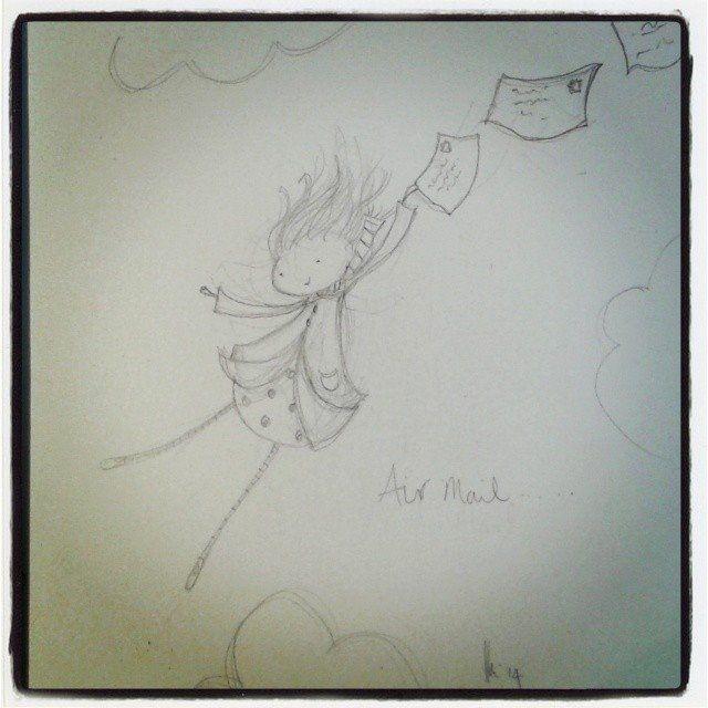 'air mail'