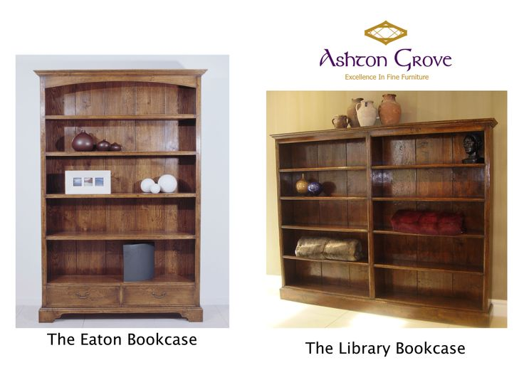French oak Library Bookcases and Eaton Bookcase