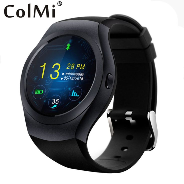 Colmi Bluetooth Smart Clock VS39 IPS Round Screen IP54 Life Waterproof Calls SMS