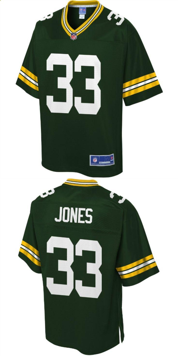 Aaron jones green bay packers nfl pro line player jersey
