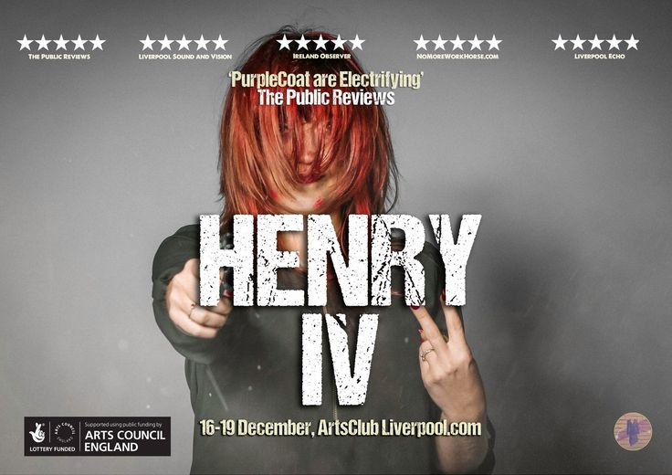 Henry IV Parts 1 and 2. Character poster series.