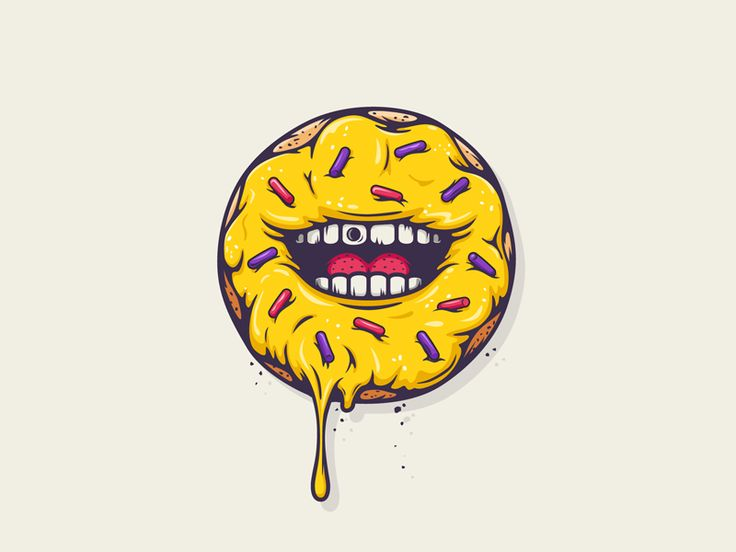All The Pretty Colors donut logo by Nathan Walker #atpcdesign