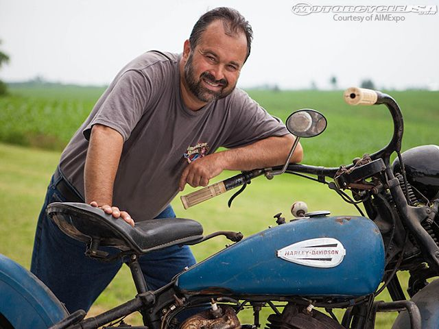"""American Pickers"""" Frank Fritz Interview - Motorcycle USA"""