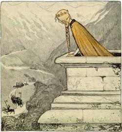 fairy tale John Bauer scandinavian folk lore scandinavian folklore