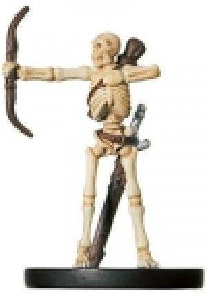 D&D Miniature Angelfire 50/60 Skeletal Archer C