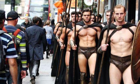 Gli spartani invadono Londra
