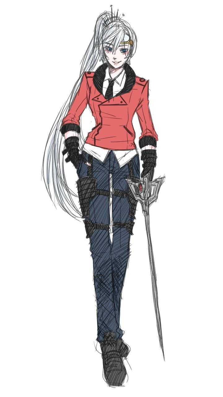 weiss looks better in neptunes clothes than he does