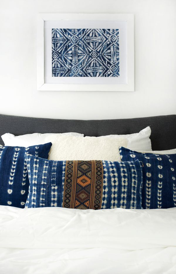 DIY Large Scale Stenciled Art (Cool Bedrooms Boho)
