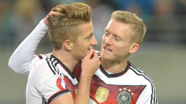 2:1 gegen Georgien: Kruse trifft zum Sieg! Deutschland ist bei der EM 2016 dabei http://www.focus.de/sport/fussball/em-2016/deutschland-georgien-live-bringt-loew-im-entscheidungsspiel-der-em-quali-kapitaen-schweinsteiger_id_5006193.html