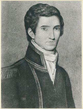 Exploring Mount Lofty - Portrait of Captain Matthew Flinders, 1808