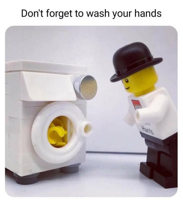 Wash Your Hands Lego Stupid Jokes Funny Relatable Memes Stupid Funny Memes