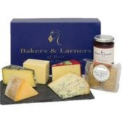 Bakers and Larners Best of British Cheese Hamper