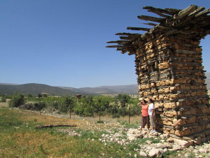 Antalya-datköy de150 yıllık tarihi arılıklar..hala sapa sağlam fakat arılar kalmadı ne yazık ki...