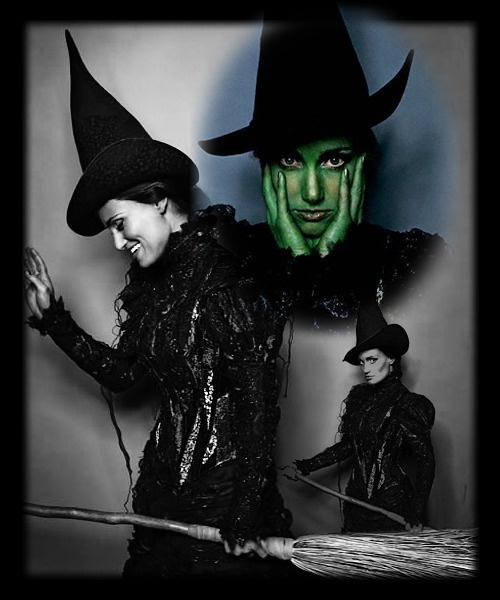 Idina Menzel as Elphaba (Wicked)