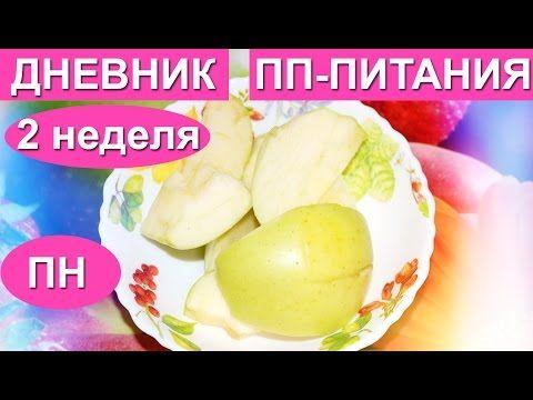 ХУДЕЕМ/Дневник ПП-питания-ПН/2 неделя