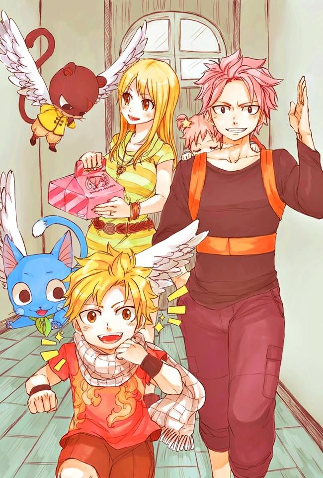 78+ images about Natsu x Lucy on Pinterest | Happy, Fairy ...