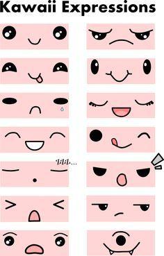 Expressions kawaï