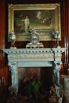 antique fireplace photos - Google Search