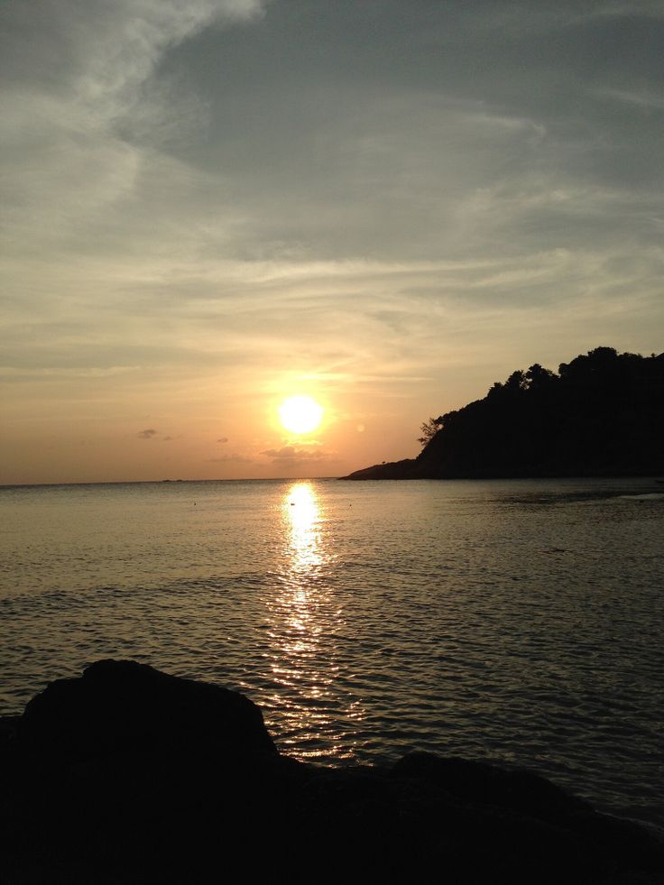 The nature of the beach. #Sunrise #Beach #Vacation #KohSamui
