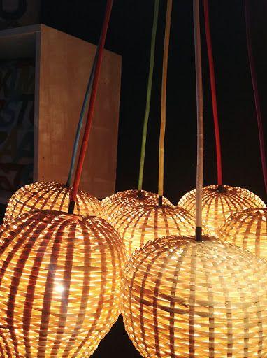 "TIKAU TUNE BAMBU LIGHT COLLECTION 2013, seven ""Baby Balloon"" shades together looks good!  www.tikau.com"