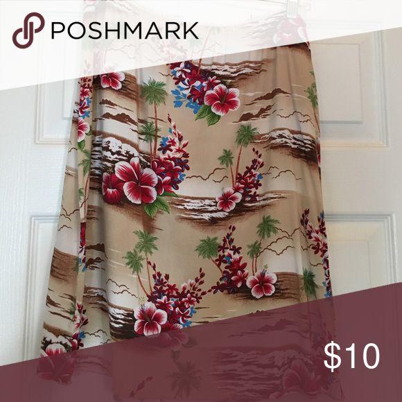 Hawaiian skirt Perfect for summer! Roxy Skirts Mini