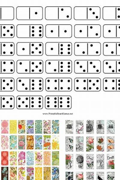 photograph relating to Printable Dominos titled Totally free Printable Domino Collage - Bing pictures Printables