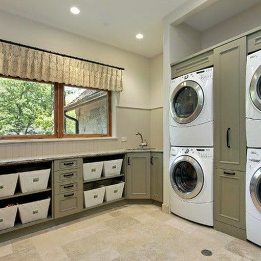 Best Laundry Room Location: 9 Best Laundry Double Washer Dryer Images On Pinterest