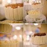 Both beautiful and delicious wedding cake