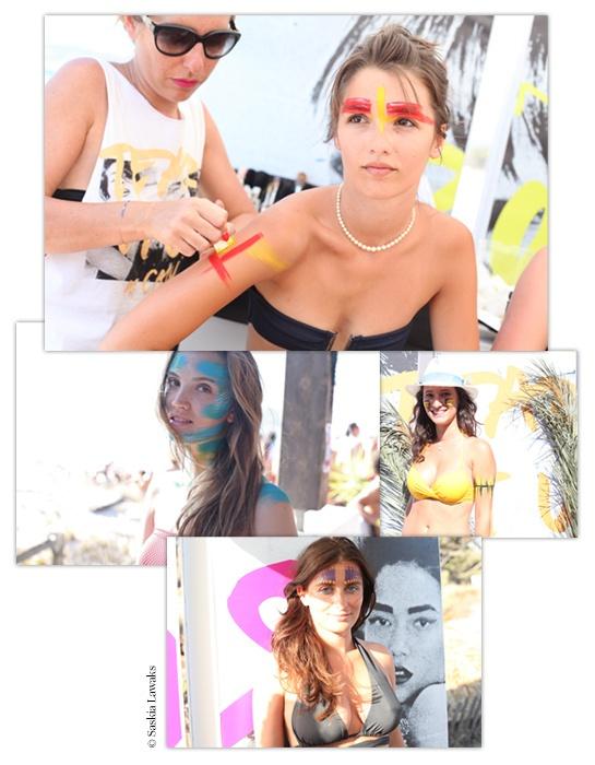 Maquillages de plage : Calvi on the Rocks - Jour 4