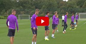 Tottenham Hotspur - Training Session