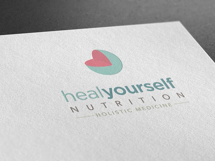Logo, Business Cards and website for Heal Yourself Nutrition.
