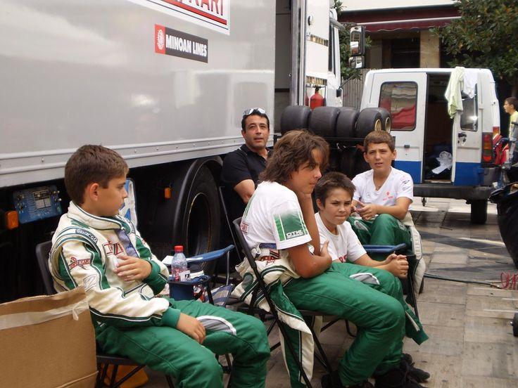 PRT Motorsport Junior and Mini kart drivers