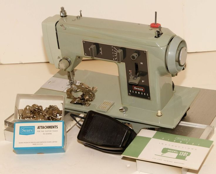 SEARS KENMORE 158 13011 Heavy Duty Sewing Machine Made In ...