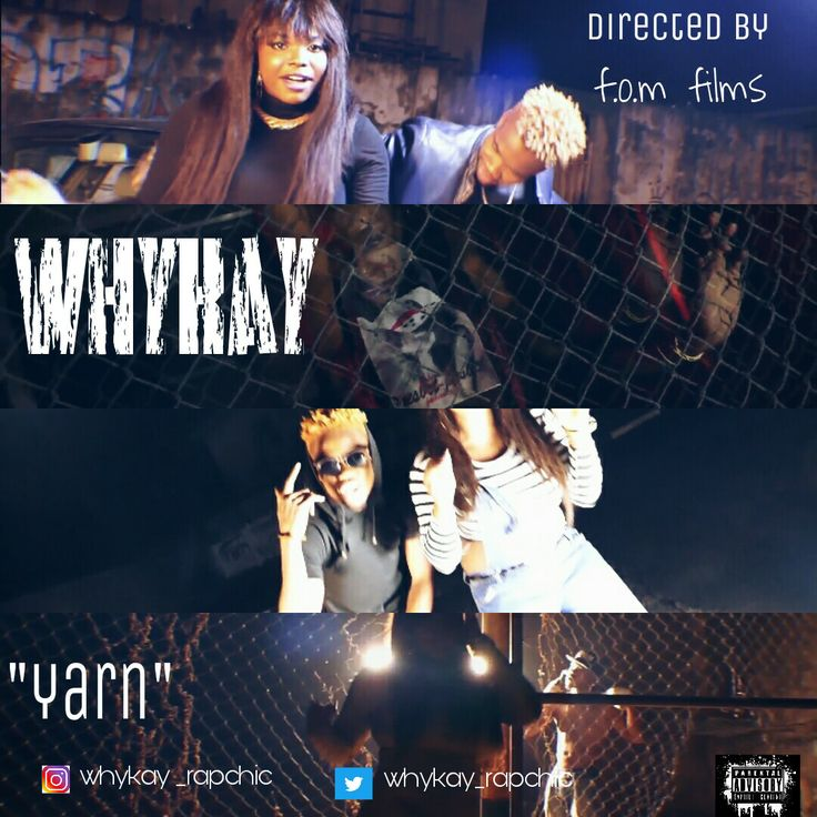 "LV VIDEO: Whykay (Rapchic) ft Xcell - Yarn   Whatsapp / Call 2349034421467 or 2348063807769 For Lovablevibes Music Promotion   Whykay aka rapchic whose real names are Ogunjimi Elizabeth Adeyinka A Fast Rising female rapper & Singer She hails from ondo state born and raised in festac town lagos Nigeria. The yarn crooner started rapping in 2012/2013. Her first single ""red Light "" Made Wave. She has worked with acts like CartiairXcell Steverock Pherowshuz YCEE etc. Whykay has been featured on…"