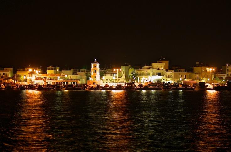 Ierapetra Crete by night