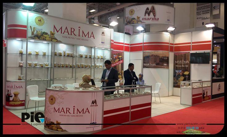 Anufood Fuarı ''MARMA MAKARNA'' Stand Uygulamamız