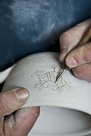 Ceramic, pottery, Sardinia, Sardegna