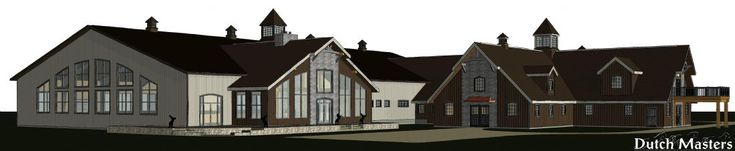 Decorative Design - Dutch Masters Horse Barn Builders Ontario