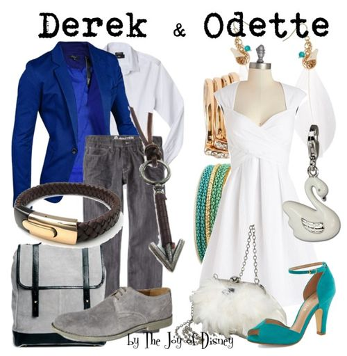 Couple outfits inspired by Derek & Odette from the movie The Swan Princess! -- Non-Disney --