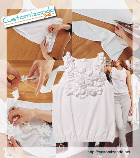 5 Camisetas customizadas de forma criativa - moda e customização - ideias para customizar camisetas